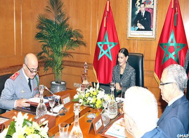 HRH Princess Lalla Meryem Chairs in Rabat 7th Meeting of Board of Hassan II Foundation for Veterans' Social Welfare