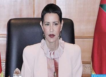 HRH Princess Lalla Meryem Chairs in Rabat Closing Ceremony of