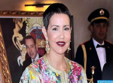 HRH Princess Lalla Meryem, French President Chair in Paris Opening of Exhibition 'Splendours of Writing in Morocco, Rare and Unpublished Manuscripts'