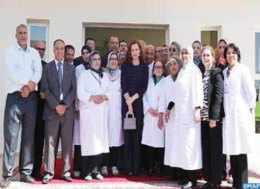HRH Princess Lalla Salma Inaugurates Reproductive Health Reference Center For Breast And Uterine Cancer Early Detection