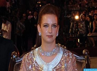 صاحبة السمو الملكي الأميرة للا سلمى تحضر بمونتيفيديو مأدبة عشاء أقامها رئيس الأوروغواي على شرف المشاركين في المؤتمر العالمي لمنظمة الصحة العالمية