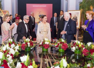HRH Princess Lalla Hasnaa Chairs Dinner Offered by HM the King on the Occasion of Official Opening of 18th Marrakech International Film Festival