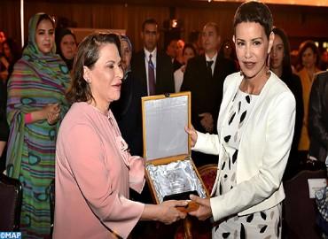 """SAR la Princesse Lalla Meryem préside à Marrakech la cérémonie d'ouverture du 3è Forum """"initiatives féminines entre l'Orient, l'Occident et l'Afrique"""""""