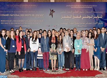 SAR La Princesse Lalla Meryem préside à Marrakech la 15-ème édition du Congrès national des droits de l'enfant