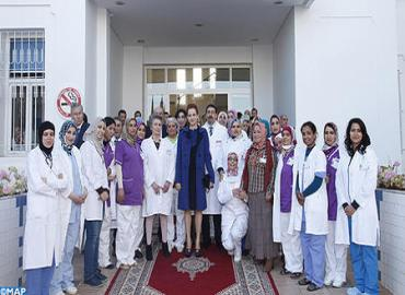 HRH Princess Lalla Salma Inaugurates Adult Hematology, Oncology Unit For Treatment Of Blood Cancers At '20 August 1953' Hospital In Casablanca