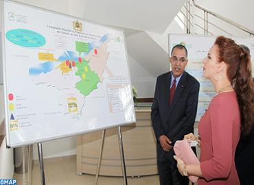 HRH Princess Lalla Salma Inaugurates In Mohammedia Breast And Uterine Cancer Screening And Early Detection Center