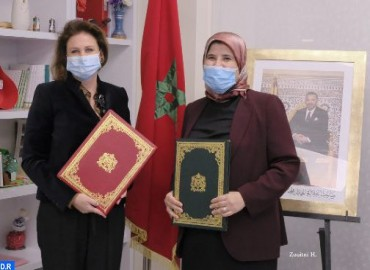 HH Princess Lalla Zineb Chairs Signing Ceremony of Agreement Between Ministry of Solidarity and Moro