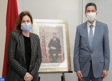 Su Alteza la Princesa Lalla Zineb recibe al presidente del Ministerio Público