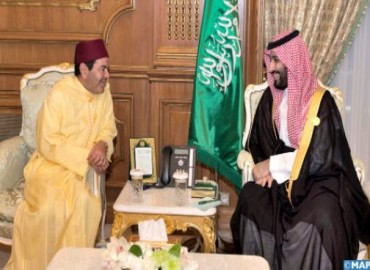 صاحب السمو الملكي الأمير مولاي رشيد يلتقي بولي العهد السعودي على هامش القمة الإسلامية بمكة المكرمة