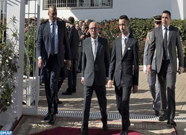 SAR le Prince Héritier Moulay El Hassan préside à Salé la cérémonie d'inauguration de la frise chronologique de la Fondation Abou Bakr El Kadiri pour la pensée et la culture