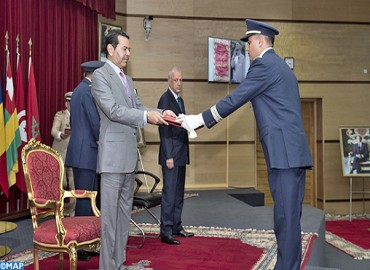 HRH Prince Moulay Rachid Chairs Graduation Ceremony of 17th Class of Defense Higher Studies and 51st Class of Staff Studies
