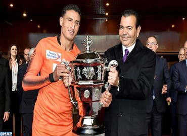 HRH Prince Moulay Rachid Chairs 2017-2018 Throne Cup Final in Rabat