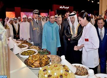 """SAR le Prince Moulay Rachid préside la cérémonie d'ouverture officielle de la 3è édition de l'évènement """"Le Maroc à Abu Dhabi"""""""