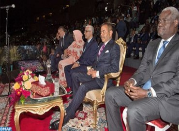 SAR el Príncipe Moulay Rachid preside en Rabat la ceremonia de inauguración de la 12ª edición de los Juegos Africanos