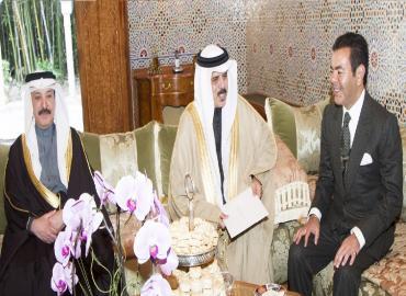 HRH Prince Moulay Rachid Receives Envoy Of Bahraini King