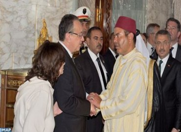 HRH Prince Moulay Rachid Represents HM the king at Funeral of President Beji Caid Essebsi