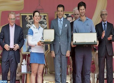 HRH Prince Moulay Rachid Chairs Award Ceremony of 46th Hassan II Golf Trophy, 25th Lalla Meryem Golf Cup
