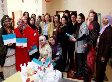 صاحبة السمو الأميرة للا زينب تترأس حفل اختتام الدورة التكوينية للمربيات المتخصصات في رعاية الأطفال في وضعية إعاقة