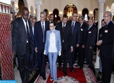 صاحبة السمو الملكي الأميرة للا مليكة تترأس بعين عتيق حفل إطلاق الأسبوع الوطني للهلال الأحمر المغربي