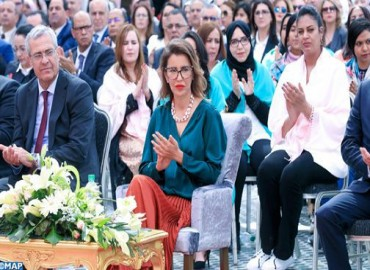 HRH Princess Lalla Meryem Presides in Marrakesh over Celebration Ceremony of International Women's Day