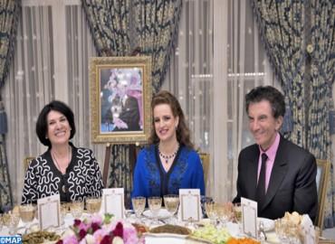 SAR la Princesse Lalla Salma préside un dîner offert par SM le Roi à l'occasion de l'inauguration de l'exposition