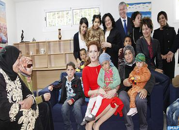 HRH Princess Lalla Salma Visits 'House Of Future' In Rabat