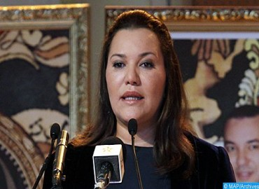 HRH Princess Lalla Hasnaa Meets with Japan's Crown Prince in Tokyo