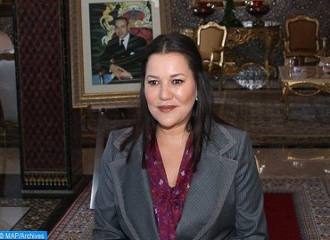 Moroccan People Celebrate Birthday of HRH Princess Lalla Hasnaa