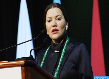 HRH Princess Lalla Hasnaa Designated Goodwill Ambassador of Climate Commission and Blue Fund of Congo Basin