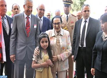 SAR la Princesse Lalla Malika préside à Ain Atiq la cérémonie de lancement de la Semaine nationale du croissant rouge marocain