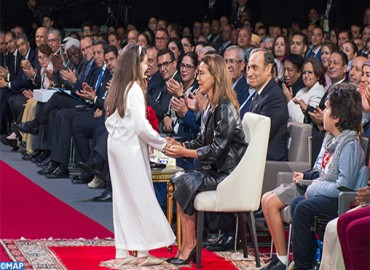SAR la Princesa Lalla Meryem preside en Marrakech la ceremonia de clausura de la 16ª edición del Congreso Nacional de los Derechos del Niño