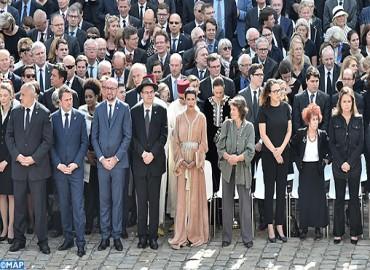 صاحبة السمو الملكي الاميرة للا مريم تحضر بباريس مراسيم تأبين وطني لسيمون فاي