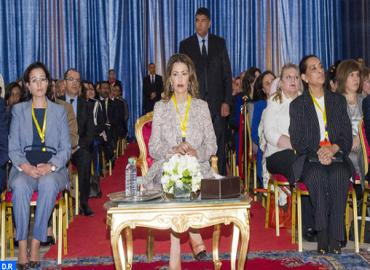 HRH Princess Lalla Meryem chairs opening of 1st international congress on women and road security: society project