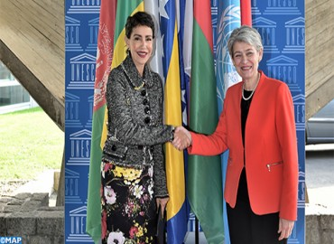 HRH Princess Lalla Meryem Represents HM the King in Leaders' Forum of UNESCO 39th General Conference