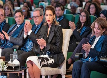 HRH Princess Lalla Meryem Chairs in Rabat Ceremony to Celebrate IWD