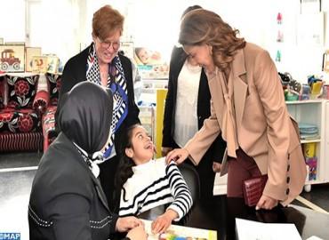 صاحبة السمو الملكي الأميرة للا مريم تترأس حفل تخليد الذكرى الخمسين لتأسيس جمعية المنار للأطفال المعاقين ذهنيا