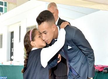 SAR el Príncipe Heredero Moulay El Hassan dio en Rabat el inicio oficial del curso escolar y universitario y de formación profesional 2017-2018
