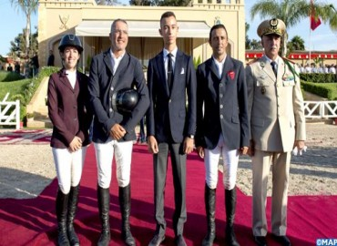 HRH Crown Prince Moulay El Hassan Chairs in Temara Award Ceremony of HM King Mohammed VI Show Jumping Grand Prix