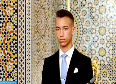 La Famille Royale et le peuple marocain célèbrent, mercredi, le seizième anniversaire de SAR le Prince Héritier Moulay El Hassan