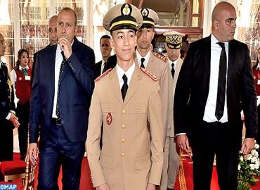 SAR le Prince Héritier Moulay El Hassan préside un déjeuner offert par SM le Roi à l'occasion du 61ème anniversaire de la création des FAR