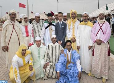 صاحب السمو الملكي ولي العهد الأمير مولاي الحسن يترأس افتتاح الدورة العاشرة لمعرض الفرس بالجديدة