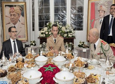 HRH Crown Prince Moulay El Hassan Chairs Iftar-Dinner on 63rd Anniversary of FAR Creation