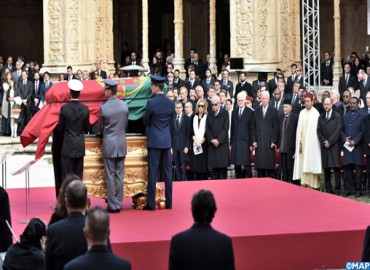 SAR le Prince Moulay Rachid représente SM le Roi aux funérailles de l'ancien président portugais Mario Soares