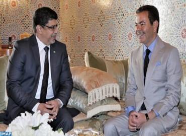 بأمر من صاحب الجلالة، صاحب السمو الملكي الأمير مولاي رشيد يستقبل مبعوثا من الرئيس الموريتاني حاملا رسالة إلى جلالة الملك