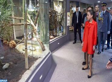 SAR la Princesa Lalla Khadija preside la ceremonia de inauguración del vivero del jardín zoológico nacional de Rabat