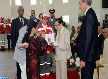 SAR la Princesa Lalla Malika preside la ceremonia de lanzamiento de la semana nacional de la Media Luna Roja