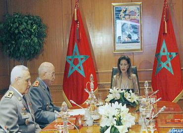 HRH Princess Lalla Meryem Chairs 6th Session Of Governing Board Of Hassan II Social Works Foundation For Former Servicemen And Resisters