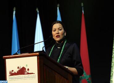 صاحبة السمو الملكي الأميرة للا حسناء تترأس بمراكش أشغال المؤتمر العالمي السابع للتربية البيئية