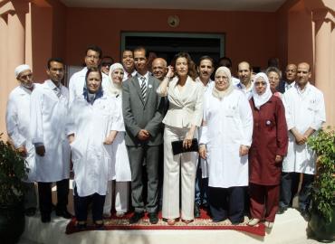 SAR la Princesse Lalla Meryem procède à Marrakech au lancement de la campagne nationale de vaccination contre la rougeole et la