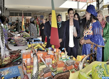 SAR la Princesse Lalla Meryem préside la cérémonie d'inauguration du Bazar international de bienfaisance du Cercle diplomatique de Rabat
